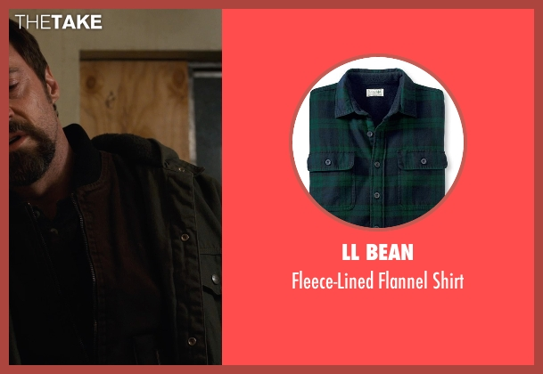 LL Bean shirt from Prisoners seen with Hugh Jackman (Keller Dover)