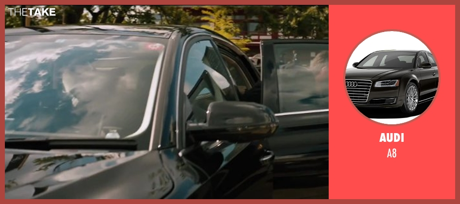 Audi a8 from The Wolverine seen with Hugh Jackman (Logan / Wolverine)