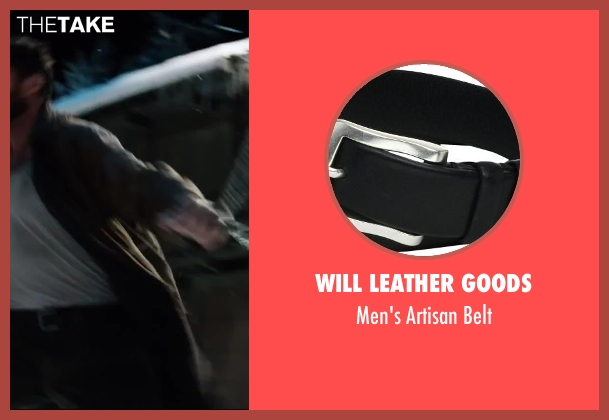 Will Leather Goods black belt from The Wolverine seen with Hugh Jackman (Logan / Wolverine)