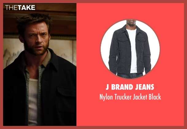 J Brand Jeans	 black black from The Wolverine seen with Hugh Jackman (Logan / Wolverine)