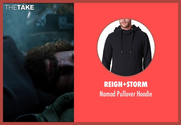 Reign+Storm black hoodie from The Wolverine seen with Hugh Jackman (Logan / Wolverine)