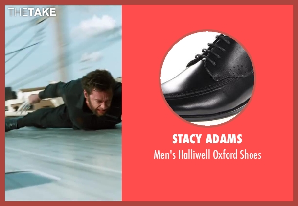 Stacy Adams black shoes from The Wolverine seen with Hugh Jackman (Logan / Wolverine)