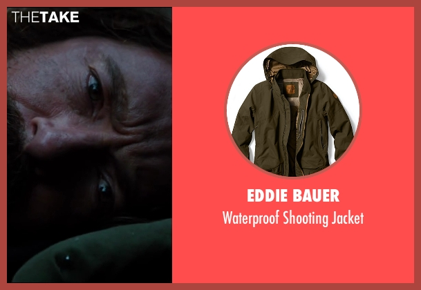 Eddie Bauer green jacket from The Wolverine seen with Hugh Jackman (Logan / Wolverine)