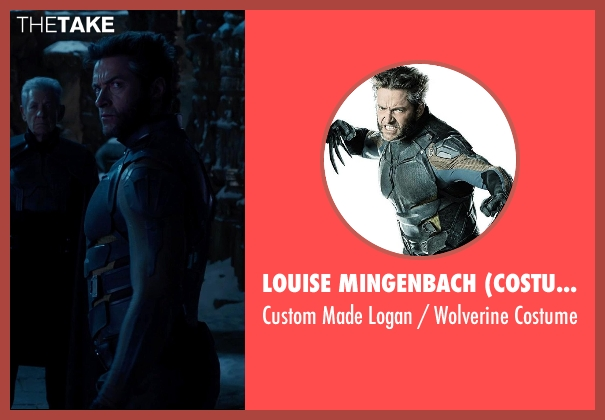 Louise Mingenbach (Costume Designer) costume from X-Men: Days of Future Past seen with Hugh Jackman (Logan / Wolverine)
