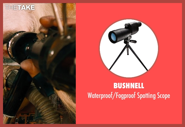 Bushnell scope from Mad Max: Fury Road seen with Hugh Keays-Byrne (Immortan Joe)