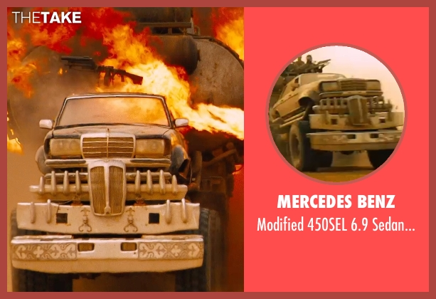 Mercedes Benz truck from Mad Max: Fury Road seen with Hugh Keays-Byrne (Immortan Joe)