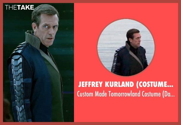 Jeffrey Kurland (Costume Designer) costume from Tomorrowland seen with Hugh Laurie (David Nix)