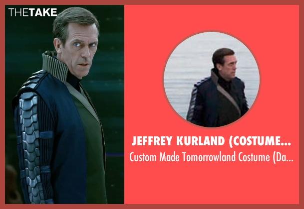 Jeffrey Kurland (Costume Designer) costume from Tomorrowland seen with Hugh Laurie (David Nix)