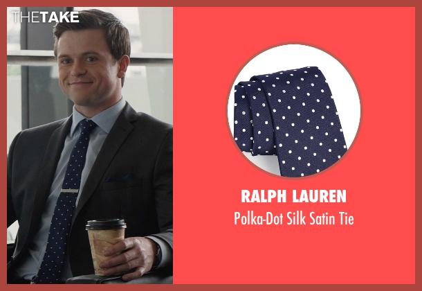 Ralph Lauren blue tie from San Andreas seen with Hugo Johnstone-Burt (Ben)