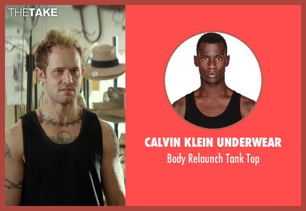 Calvin Klein Underwear black top from The Best of Me seen with Hunter Burke  (Abee)
