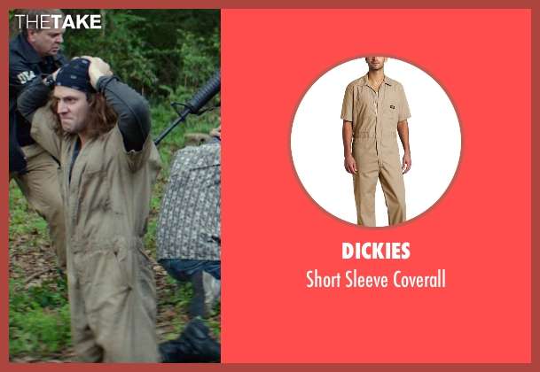 Dickies brown coverall from The Best of Me seen with Hunter Burke  (Abee)