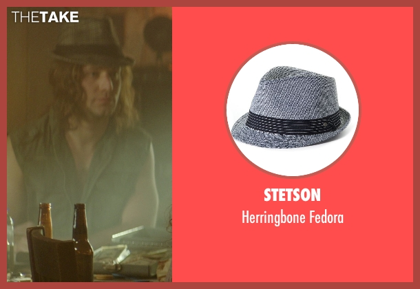 Stetson gray fedora from The Best of Me seen with Hunter Burke  (Abee)