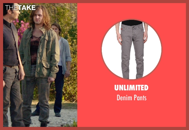 Unlimited gray pants from The Best of Me seen with Hunter Burke  (Abee)