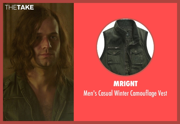 Mrignt green vest from The Best of Me seen with Hunter Burke  (Abee)