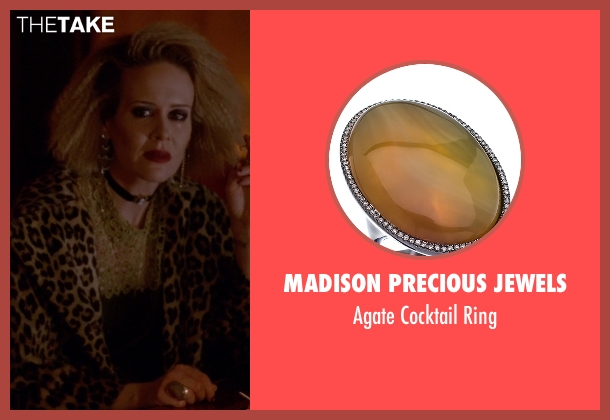 Madison Precious Jewels ring from American Horror Story seen with Hypodermic Sally (Sarah Paulson)