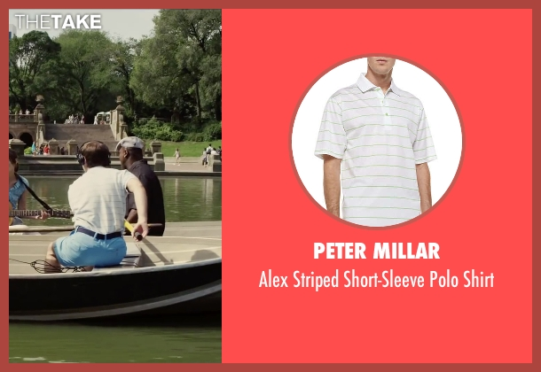 Peter Millar white shirt from Begin Again seen with Ian Brodsky (Malcolm)