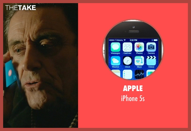 Apple 5s from John Wick seen with Ian McShane (Winston)