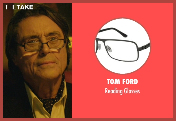 Tom Ford black glasses from John Wick seen with Ian McShane (Winston)