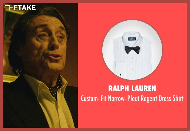 Ralph Lauren white shirt from John Wick seen with Ian McShane (Winston)