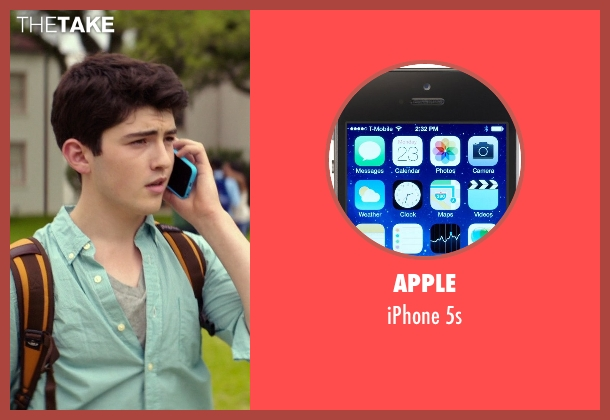 Apple 5s from The Best of Me seen with Ian Nelson (Jared)