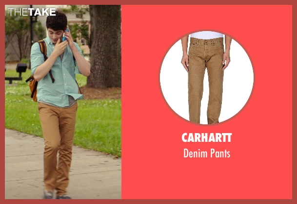 Carhartt brown pants from The Best of Me seen with Ian Nelson (Jared)