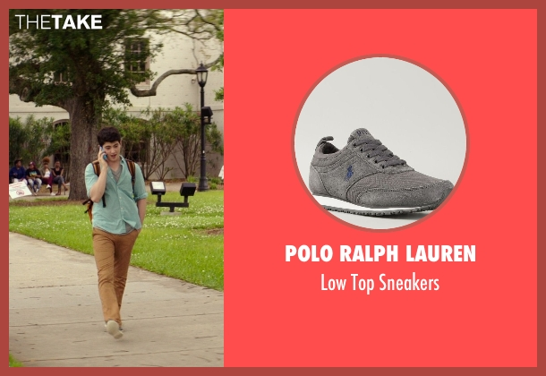 Polo Ralph Lauren gray sneakers from The Best of Me seen with Ian Nelson (Jared)