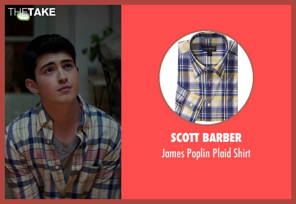 Scott Barber yellow shirt from The Best of Me seen with Ian Nelson (Jared)