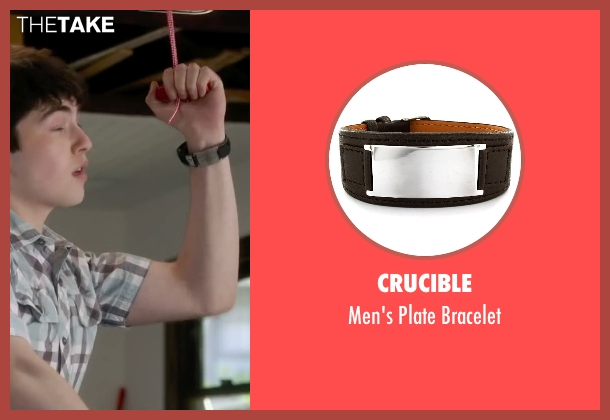 Crucible black bracelet from The Boy Next Door seen with Ian Nelson (Kevin)