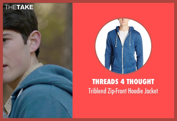 Threads 4 Thought blue jacket from The Boy Next Door seen with Ian Nelson (Kevin)