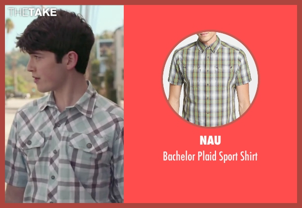 Nau green shirt from The Boy Next Door seen with Ian Nelson (Kevin)