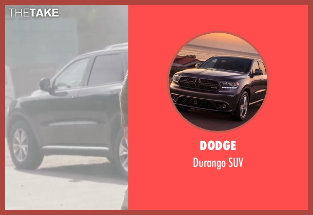 Dodge suv from Sharknado 4: The Fourth Awakens seen with Ian Ziering (Fin Shepard)