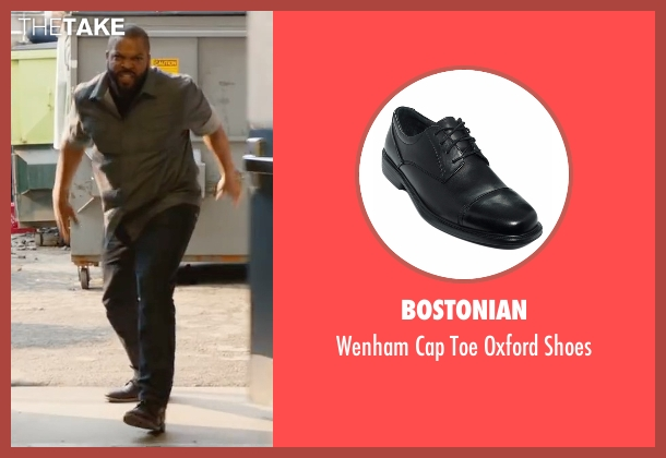 Bostonian  black shoes from Fist Fight seen with Ice Cube (Ron Strickland)