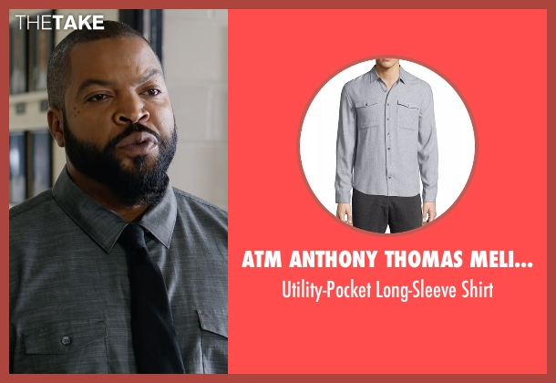ATM Anthony Thomas Melillo gray shirt from Fist Fight seen with Ice Cube (Ron Strickland)