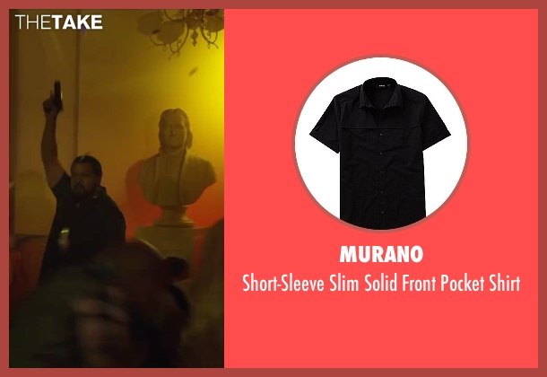 Murano black shirt from Ride Along 2 seen with Ice Cube (James Payton)