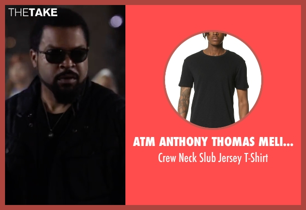 Atm Anthony Thomas Melillo black t-shirt from Ride Along 2 seen with Ice Cube (James Payton)