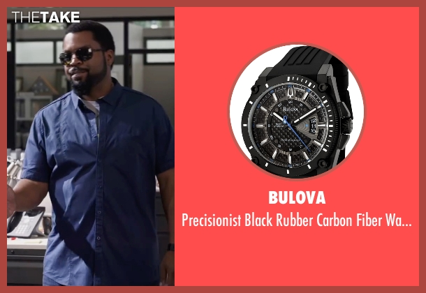 Bulova black watch from Ride Along 2 seen with Ice Cube (James Payton)