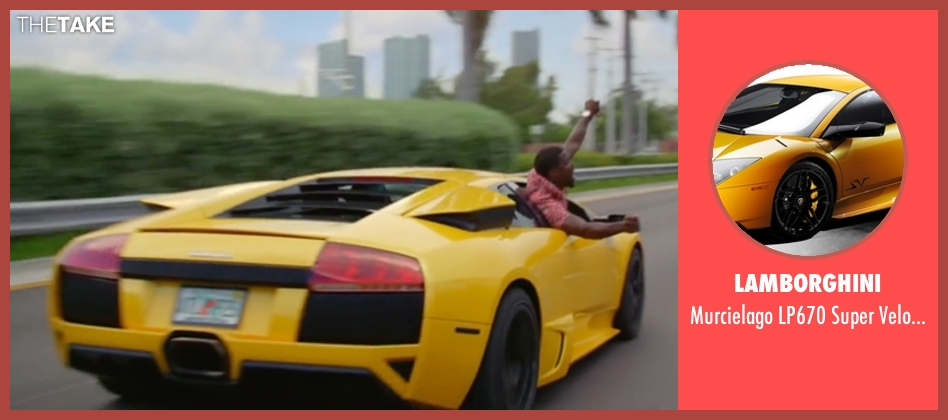 Lamborghini car from Ride Along 2 seen with Ice Cube (James Payton)