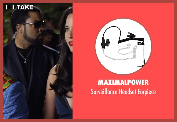 MaximalPower earpiece from Ride Along 2 seen with Ice Cube (James Payton)