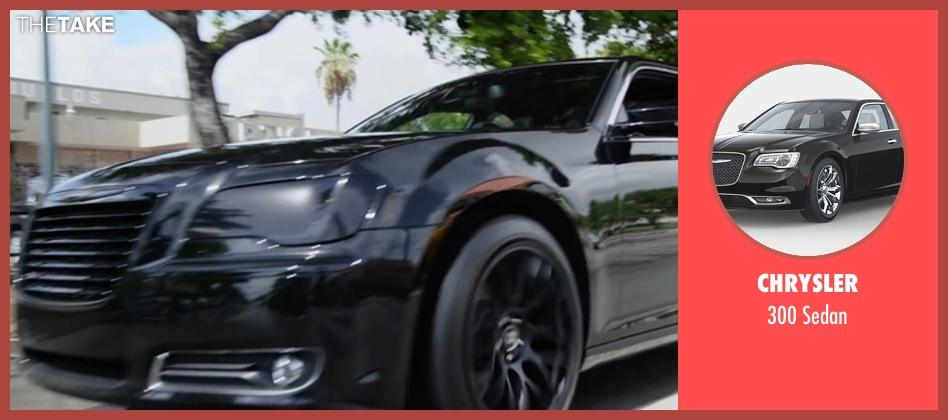 Chrysler sedan from Ride Along 2 seen with Ice Cube (James Payton)
