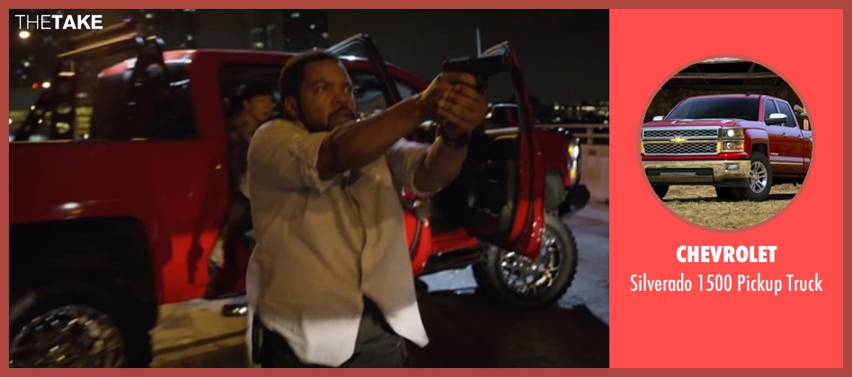 Chevrolet truck from Ride Along 2 seen with Ice Cube (James Payton)