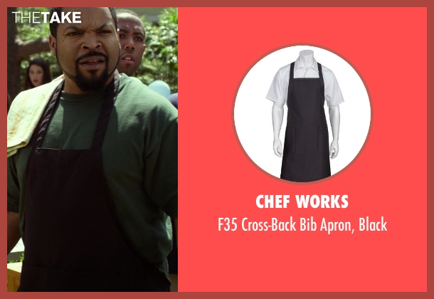 Chef Works black from Ride Along seen with Ice Cube (James Payton)