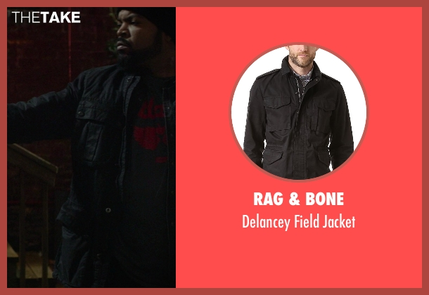 Rag & Bone black jacket from Ride Along seen with Ice Cube (James Payton)