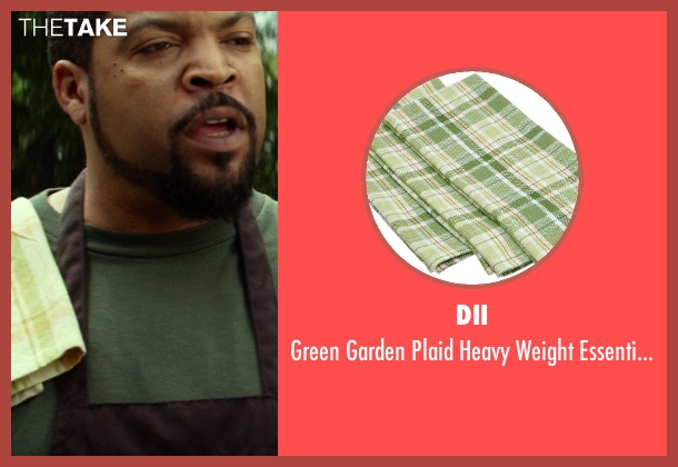 DII dishtowel from Ride Along seen with Ice Cube (James Payton)