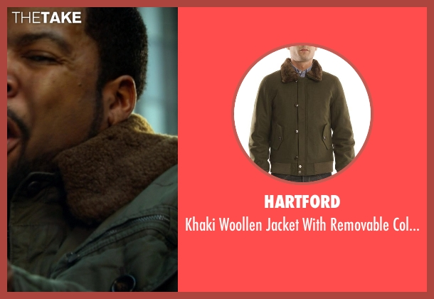 Hartford green collar from Ride Along seen with Ice Cube (James Payton)