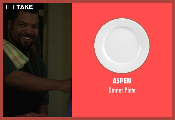 Aspen plate from Ride Along seen with Ice Cube (James Payton)