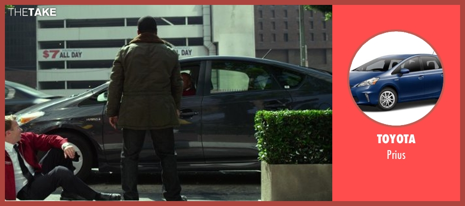 Toyota prius from Ride Along seen with Ice Cube (James Payton)