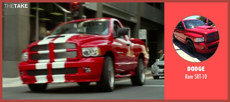Dodge srt-10 from Ride Along seen with Ice Cube (James Payton)