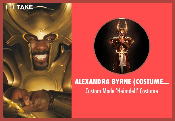 Alexandra Byrne (Costume Designer) costume from Thor seen with Idris Elba (Heimdall)