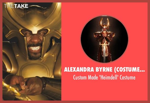Alexandra Byrne (Costume Designer) costume from Thor seen with Idris Elba (Heimdall)