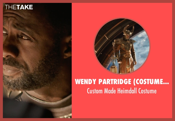 Wendy Partridge (Costume Designer) costume from Thor: The Dark World seen with Idris Elba (Heimdall)